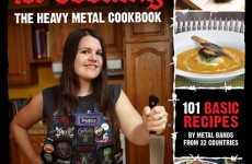 Annick Giroux Hellbent For Cooking – The Heavy Metal Cookbook 1 COVER BOOK