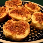 Pieczone jabłka z miodem i orzechami 4