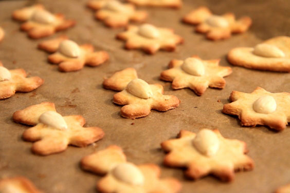 Kruche ciasteczka maślane z orzechami 11