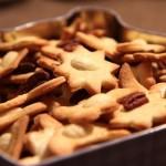 Kruche ciasteczka maślane z orzechami 26