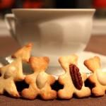 Kruche ciasteczka maślane z orzechami 6