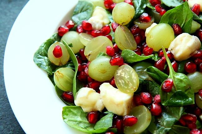 Salatka szpinak granat L_06
