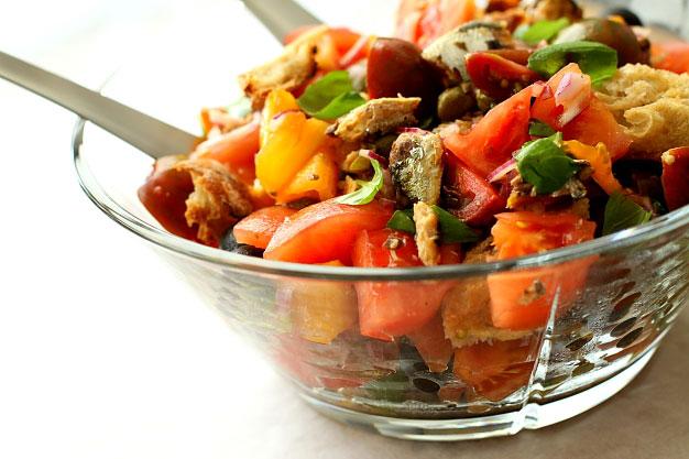 Pomidory - najlepsze sałatki