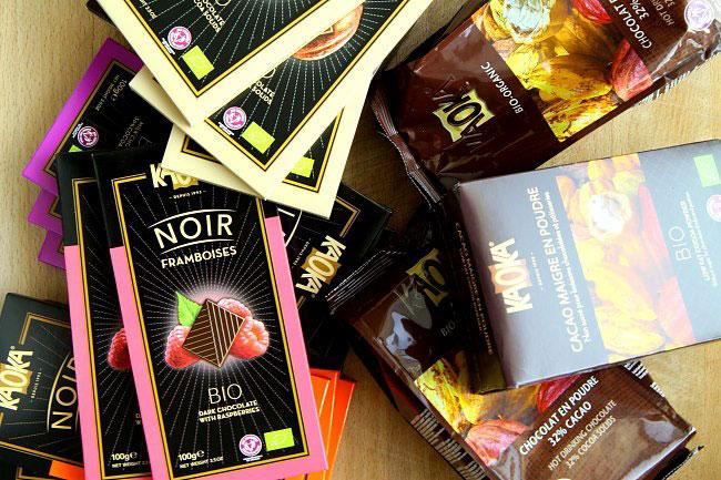 Konkurs KAOKA - organiczne czekolady w tabliczkach, kakao