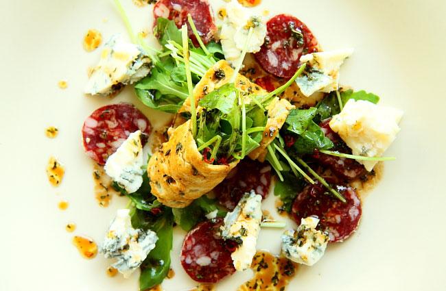 Sałatka z gorgonzolą S_21