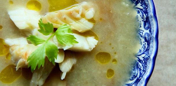 Zupa Krem Z Bialych Szparagow Z Wedzonym Dorszem Facet I Kuchnia