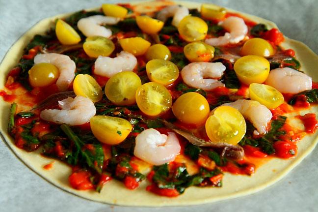 Pizza z krewetkami L_02