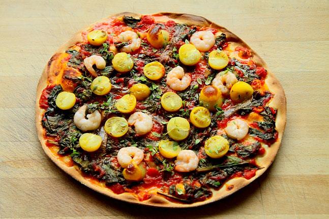 Pizza z krewetkami L_04