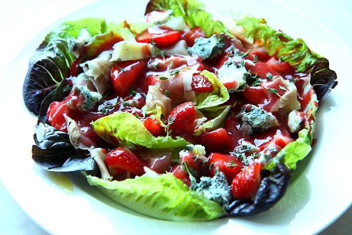 Gorgonzola z truskawkami L_14