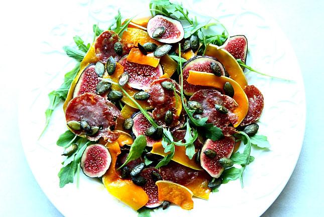 Salatka z dynią i figami L_09