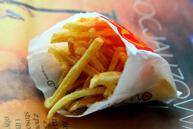 Hamburger and Fries Project 8_02
