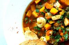 Zupa z dyni i krewetek L_02