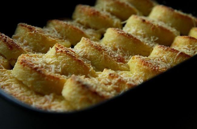 Cucina Italiana gnocchi Gnocchi alla Romana Gnocchi z semoliny semola ...