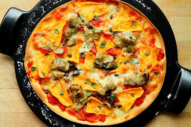 Pizza karczochy bataty L_03