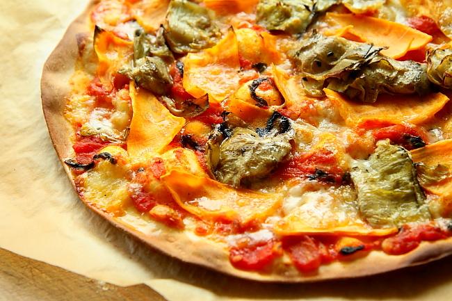 Pizza karczochy bataty L_17