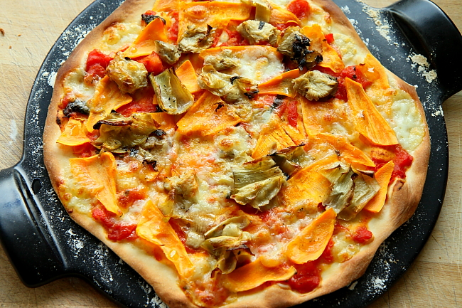 Pizza karczochy bataty L_18