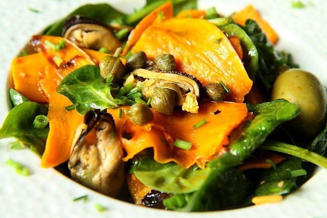 Salatka ze szpinaku i babatowL_03