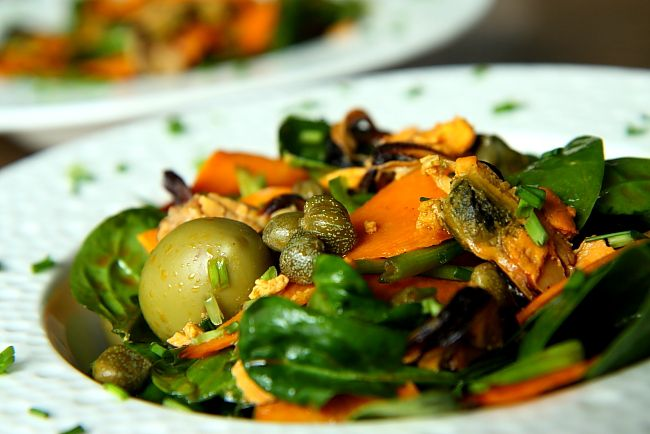 Salatka ze szpinaku i babatowL_06