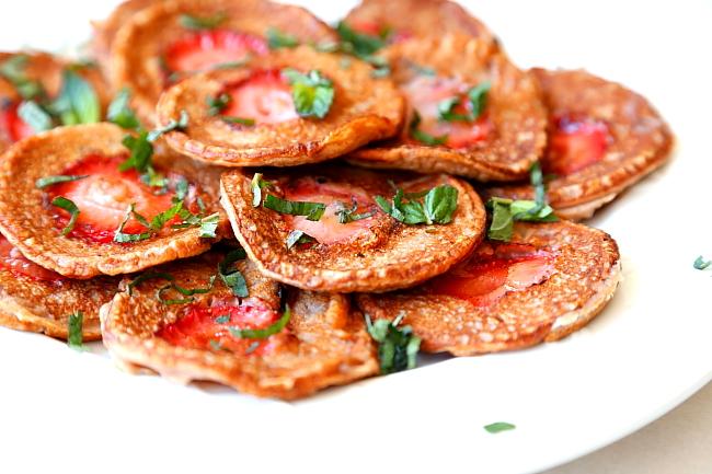 Placuszki z mąki kasztanowej
