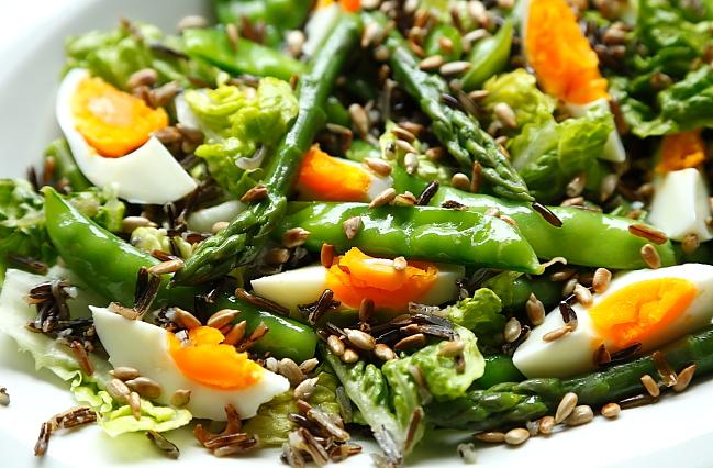 Salatka szparagi groszek L_05