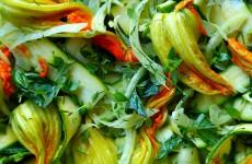 Salatka kwiaty cukinii L_001