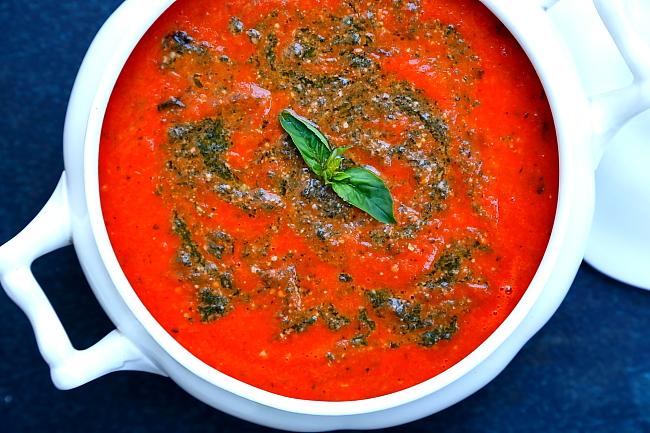 Zupa z pieczonych malinowek L_01