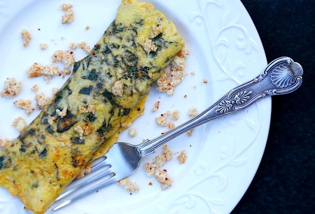 Omlet z domowym serem L_05