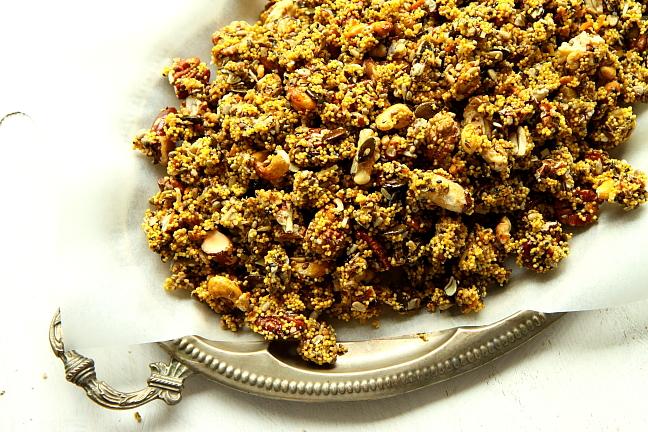 Granola z kaszy jaglanej