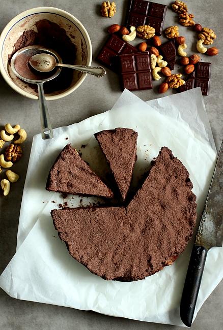 Ciasto orzechowo czekoladowe L_01
