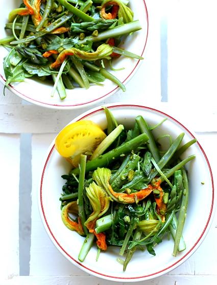 Salatka kwiaty cukinii L_03