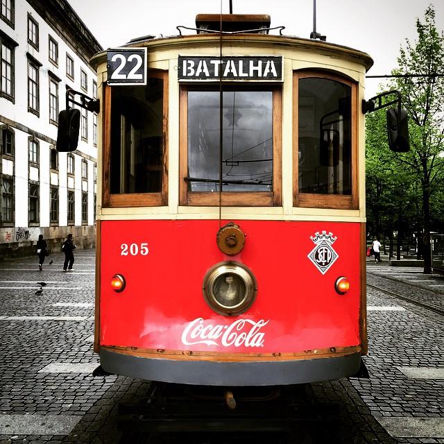 Zabytkowy tramwaj Porto