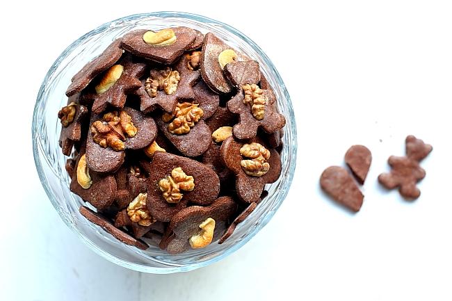 Ciasteczka kruche kakaowe L_04