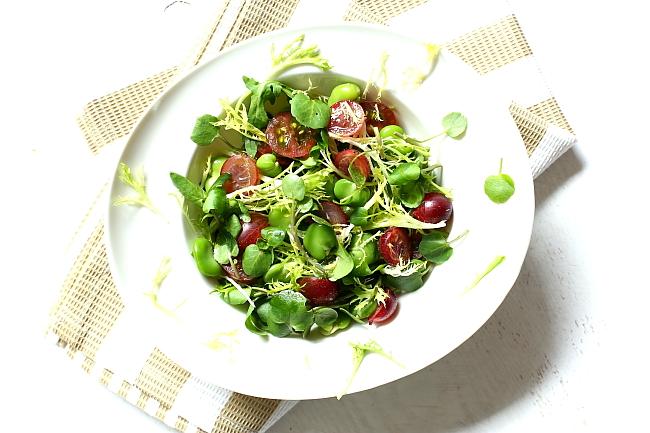 Salatka z bobem L_11