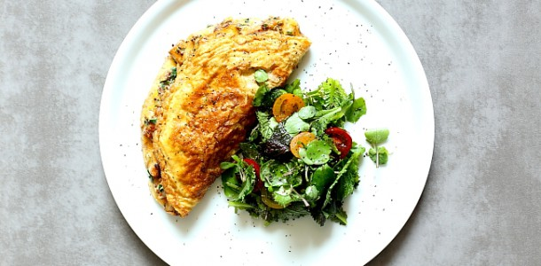 Omlet z kurkami L_07