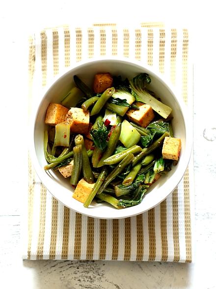 Tofu z fasolka szparagowa L_04