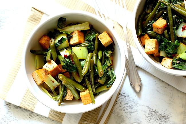 Tofu z fasolka szparagowa L_08