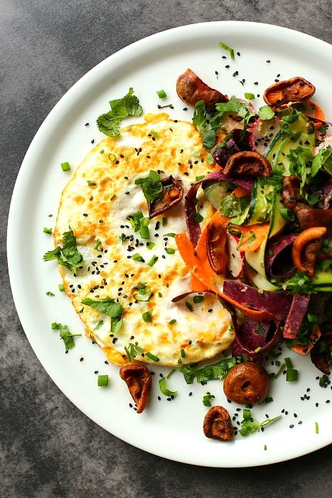 Omlet z rydzami L_12