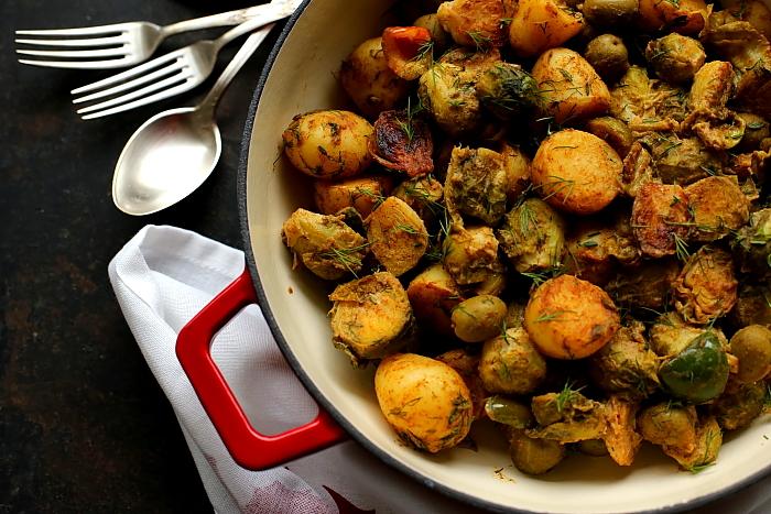 Brukselka ziemniaki oliwki L_07