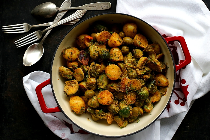 Brukselka ziemniaki oliwki L_13