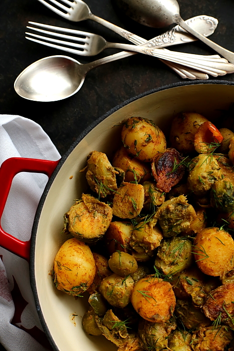Brukselka ziemniaki oliwki L_14