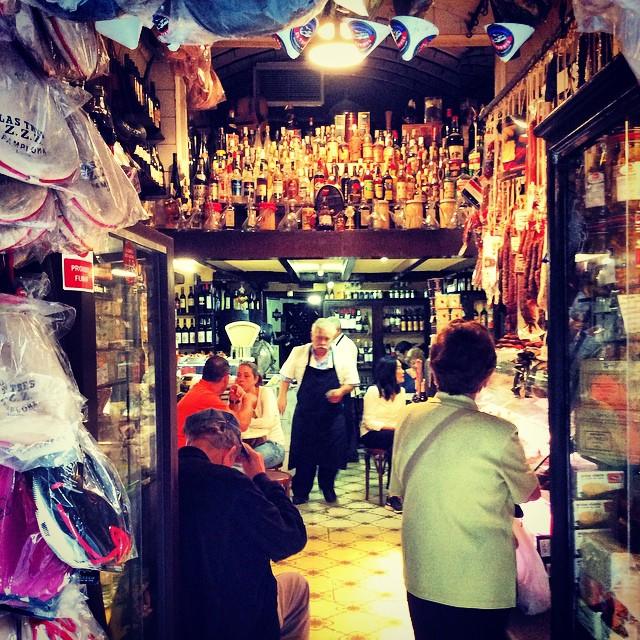 Barcelona shop bar