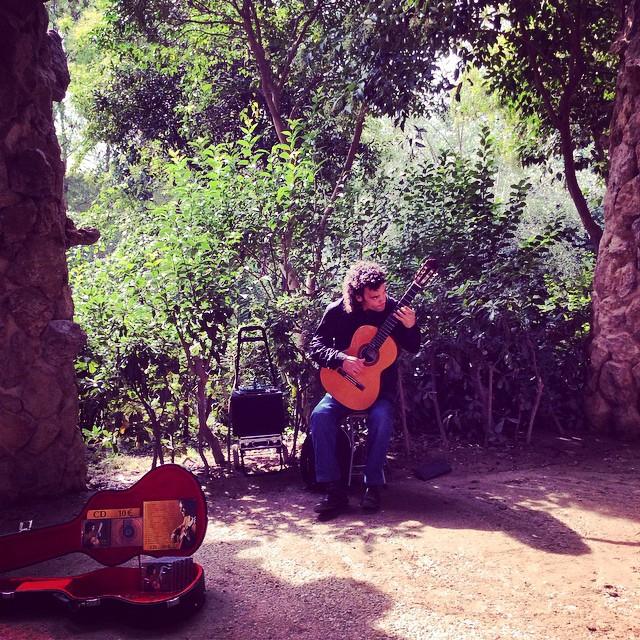 Park Guell gitara