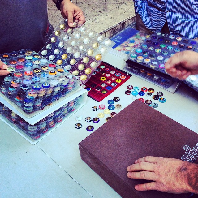 kolekcjonerzy kapsli od cavy