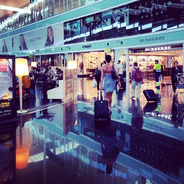 lotnisko barcelona