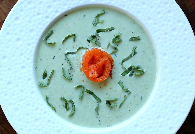 Zupa z groszku cukrowego L_03