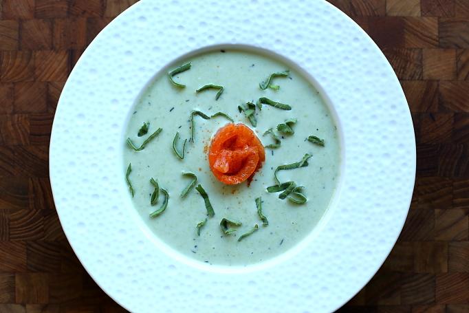 Zupa z groszku cukrowego L_04