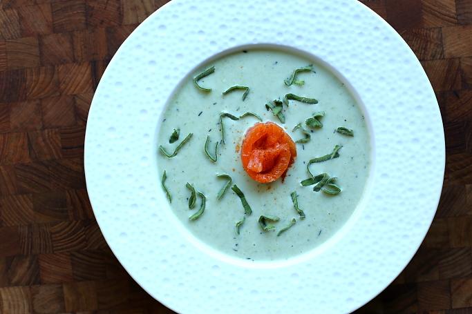Zupa z groszku cukrowego L_05
