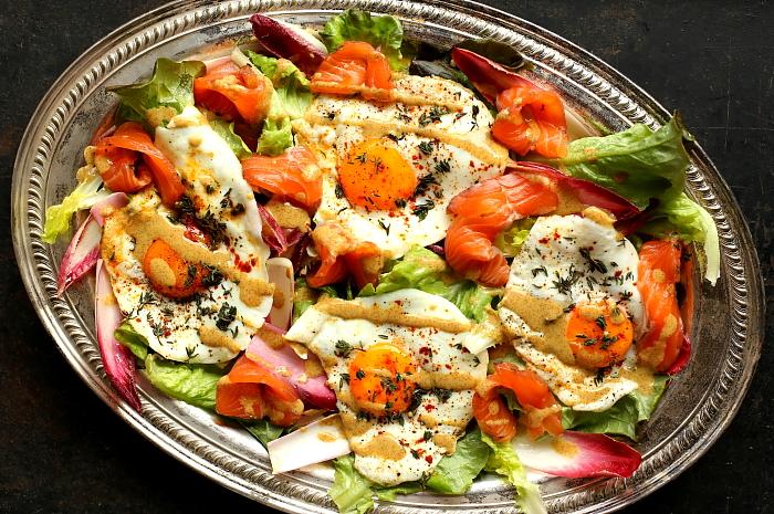 Salatka z gravlaxem L_01