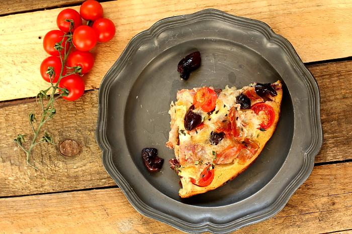 Farinata jak pizza