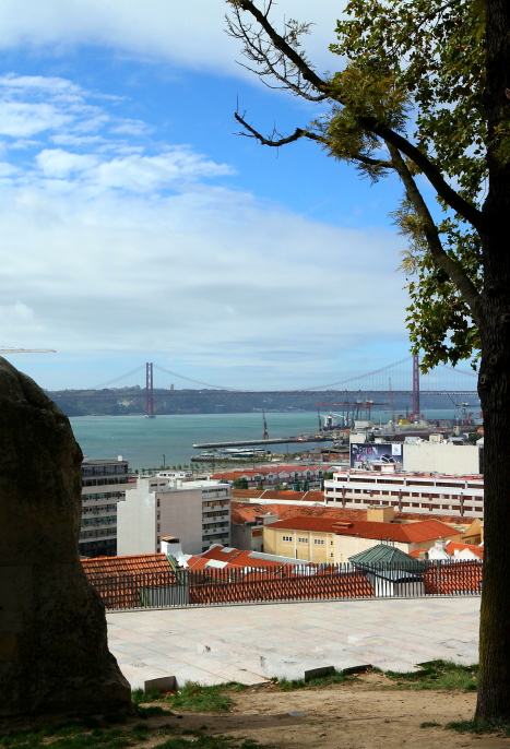 Miradouros w Lizbonie